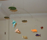 hanging mobile - Fish